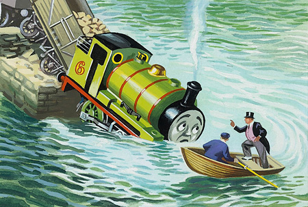 ジョン・T・ケニー『とびこんだパーシー』1957年 ©2015 Gullane(Thomas)Limited.