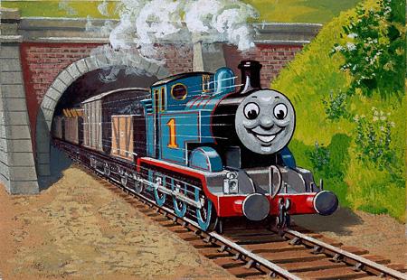 レジナルド・ダルビー『トーマスと貨車』1946年 ©2015 Gullane(Thomas)Limited.