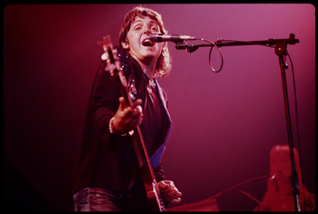 Paul McCartney & Wings『ロックショウ』 ©1976 MPL Communications Ltd, Photographer Robert Ellis