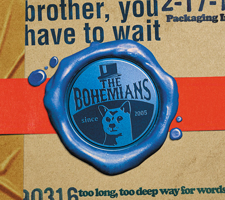 THE BOHEMIANS『brother, you have to wait』ジャケット