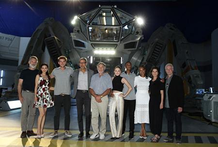 『インデペンデンス・デイ:リサージェンス(原題)』製作発表会見より ©2016 Twentieth Century Fox Film Corporation All Rights Reserved.