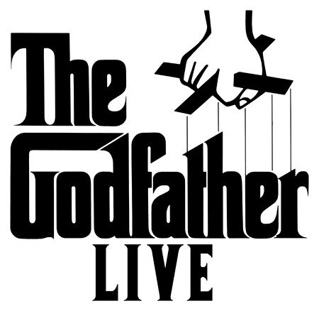 『The Godfather Live』ロゴ