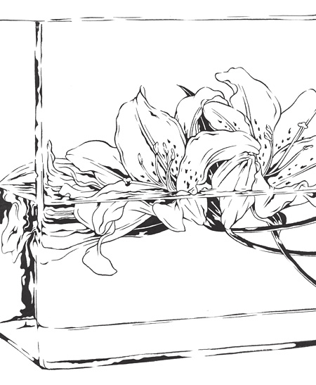『Flower IV』 ©Kiyoshi Kuroda All Rights Reserved