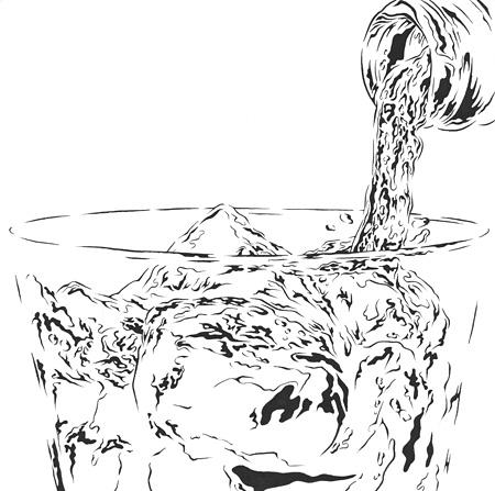 『Glass II』 ©Kiyoshi Kuroda All Rights Reserved