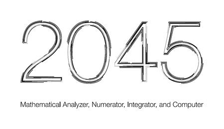 『2045』ロゴ