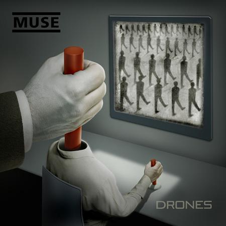 MUSE『Drones』ジャケット