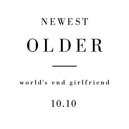 world's end girlfriend『NEWEST OLDER』メインビジュアル