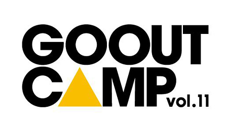 『GO OUT CAMP vol.11』ロゴ