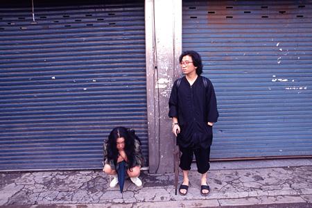 『チェ・ジョンファとイ・ブル』1991年 ソウル ©Masato Nakamura