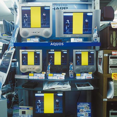 『秋葉原 TV』2000年 東京 ©Masato Nakamura