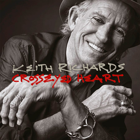 Keith Richards『Crosseyed Heart』ジャケット