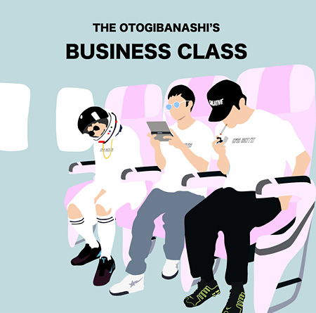 THE OTOGIBANASHI'S『BUSINESS CLASS』ジャケット