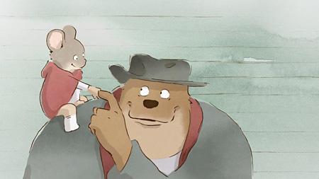 『くまのアーネストおじさんとセレスティーヌ』 ©2010 Les Armateurs - Maybe Movies - La Parti - Mélusine Productions - STUDIOCANAL - France 3 Cinéma – RTBF