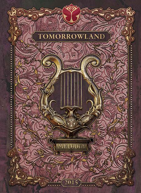 V.A.『TOMORROWLAND 2015 - MELODIA』ジャケット