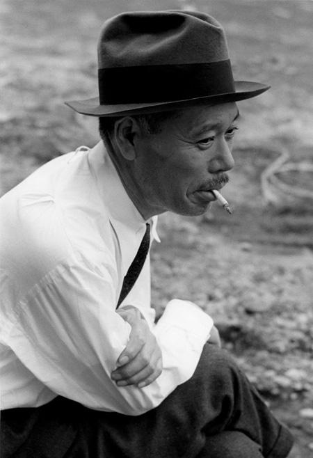 志村喬 撮影・濱谷浩(1952年) ©Keisuke Katano / Estate of Hiroshi Hamaya, Oiso