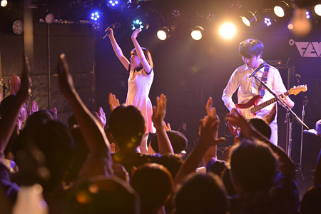 ふぇのたす 2015年8月6日に東京・新代田のFEVERで開催された『グレートハンティングナイト VOL.74』より