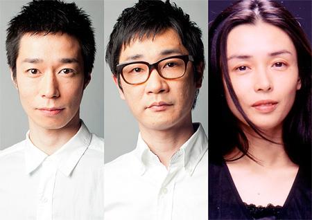 左から浜田信也、安井順平、中嶋朋子