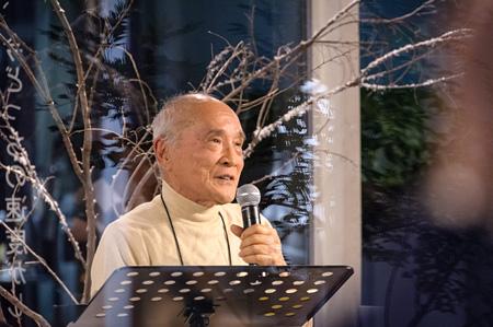 谷川俊太郎 ©深堀瑞穂