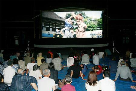 過去の『湯布院映画祭 前夜祭』会場風景
