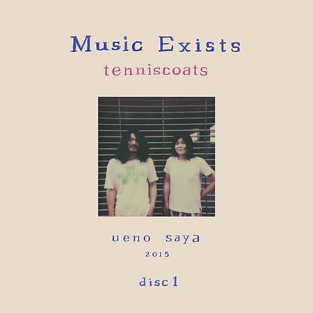 テニスコーツ『Music Exists Disc1』ジャケット