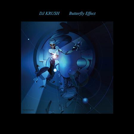 DJ KRUSH『Butterfly Effect』ジャケット