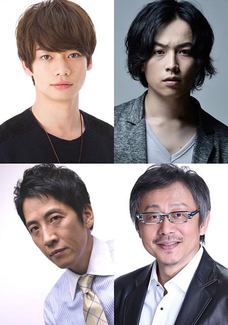 画像:左上から時計回りに池田純矢、鈴木勝吾、松尾貴史、小須田康人