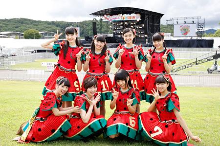 私立恵比寿中学 8月22日に開催された『エビ中 夏のファミリー遠足 略してファミえん in 長岡2015』より