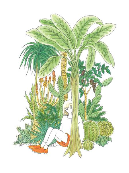 惣田紗希『garden maiden』より