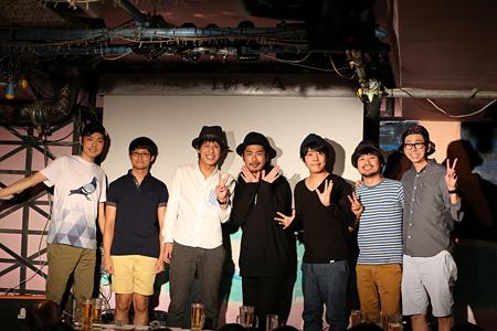 荒川ケンタウロスと菅良太郎(パンサー)、阿諏訪泰義(うしろシティ)