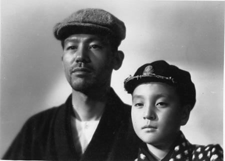 『父ありき』©1942 松竹