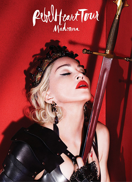 『Madonna Rebel Heart Tour』ビジュアル