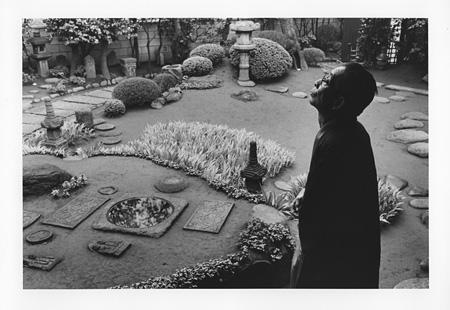 濱谷浩『室生犀星』1959年 Courtesy Estate of Hiroshi Hamaya, Oiso, Japan