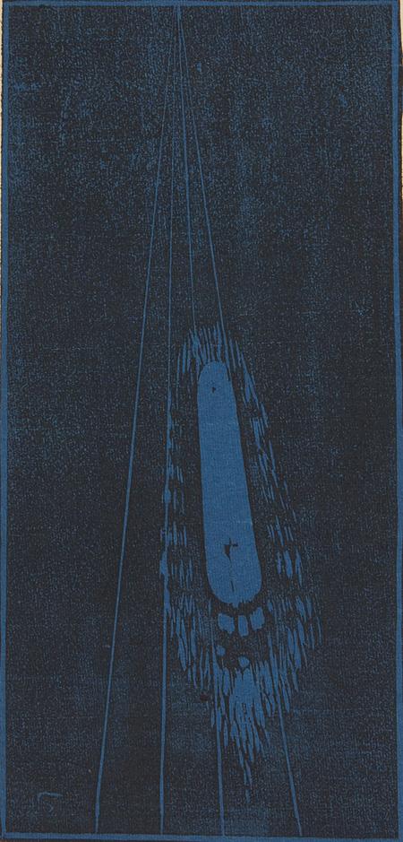 藤森静雄『永遠』1914年 和歌山県立近代美術館