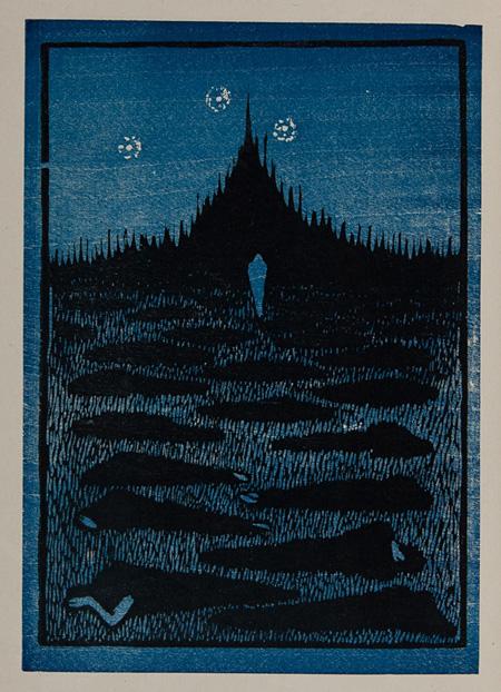 藤森静雄『夜』1914年 愛知県美術館
