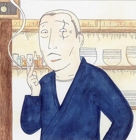 『深夜食堂』 ©安倍夜郎/小学館小学館ビッグコミックオリジナル連載中