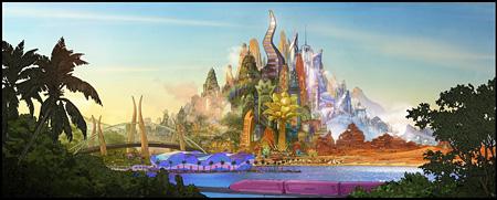 『ズートピア』コンセプトアート ©2015 Disney Enterprises, Inc.