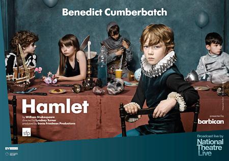 舞台『ハムレット』メインビジュアル
