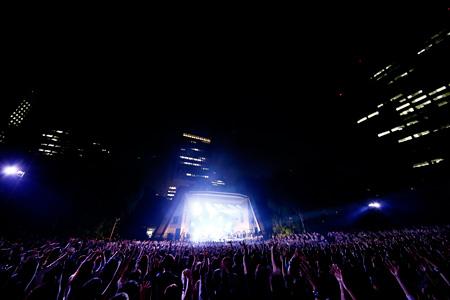 2015年9月27日に開催された『日比谷野外大音楽堂2015』会場風景