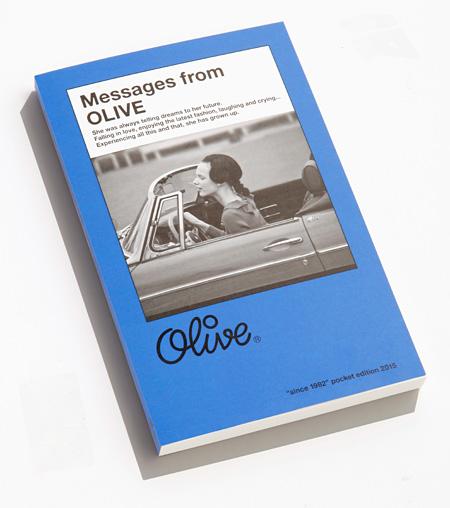 ミニブック『Messages from Olive』