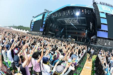 『ROCK IN JAPAN FESTIVAL 2015』会場風景