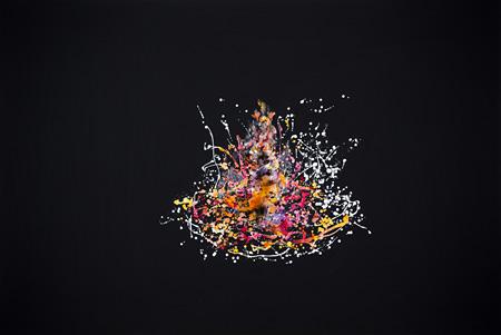 田中千智『うまれる』 2015年 油彩、アクリル、キャンバス 130.3×194.0cm