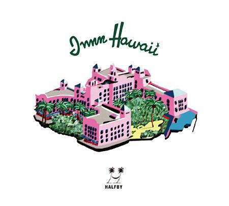 HALFBY『INNN HAWAII』ジャケット