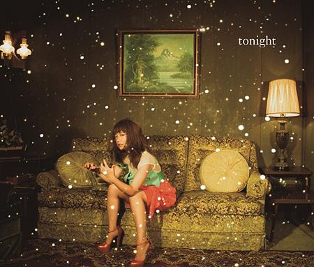 YUKI『tonight』初回限定盤ジャケット
