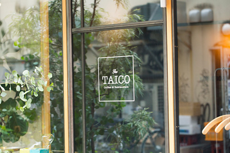 TAICO Coffee & Restaurantの外観