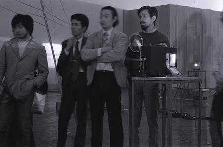『映像表現 '72』展(1972年、京都市美術館)会場風景 photo:松本正司
