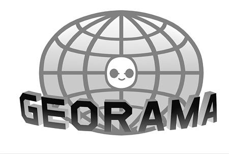 『GEORAMA』ロゴ