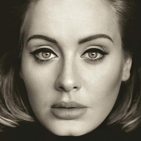 Adele『25』ジャケット