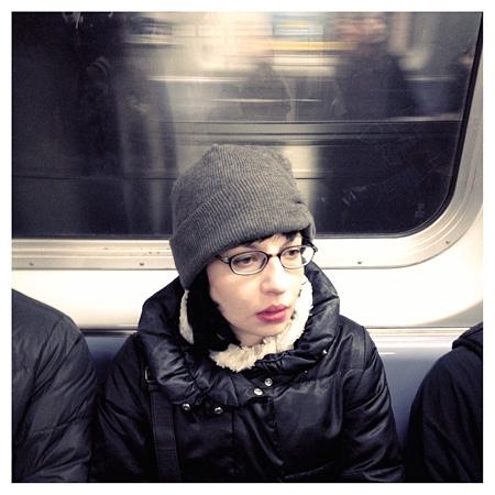 宇壽山貴久子『Subway』