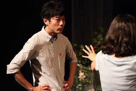 鳥公園『緑子の部屋』再演 2015年京都公演 公演風景 撮影:中才知弥(Studio Cheer)