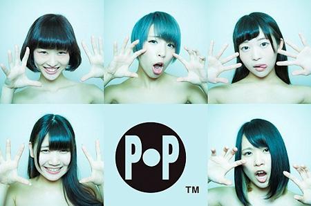 POP(上段中央がカミヤサキ)